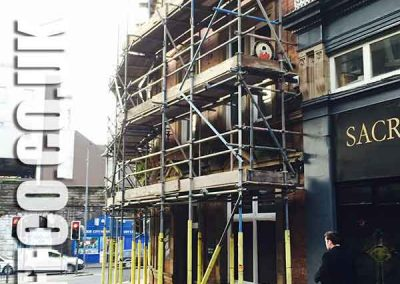 Commercial scaffolding Huddersfield by Scaff-co Scaffolding Services