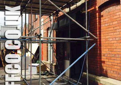 Emergency scaffolding Huddersfield by Scaff-co Scaffolding Services