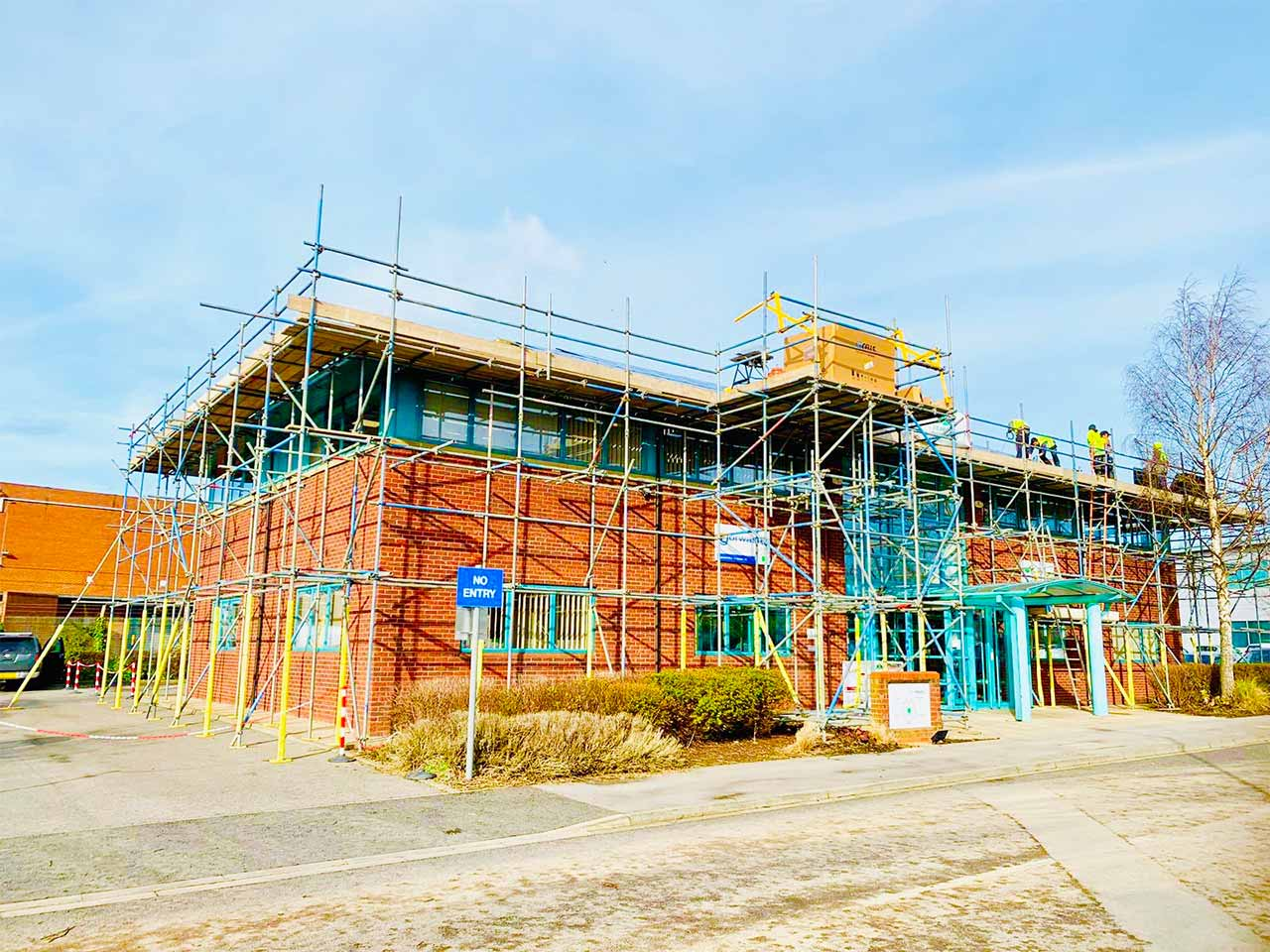 Commercial Shops and Retail SCAFF-CO UK LTD SCAFFOLDING
