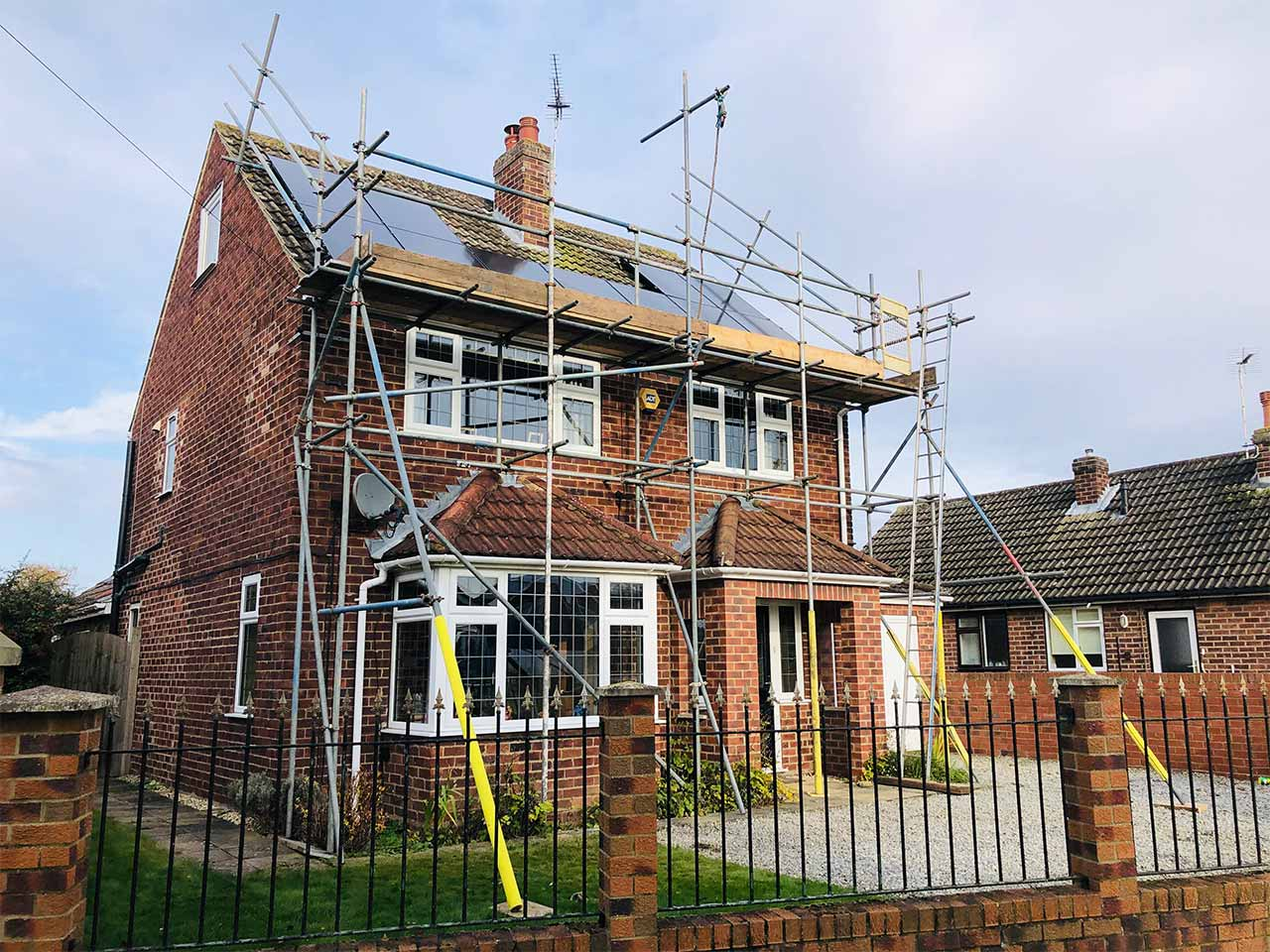 Domestic General Housing by SCAFF-CO UK scaffolding services ltd