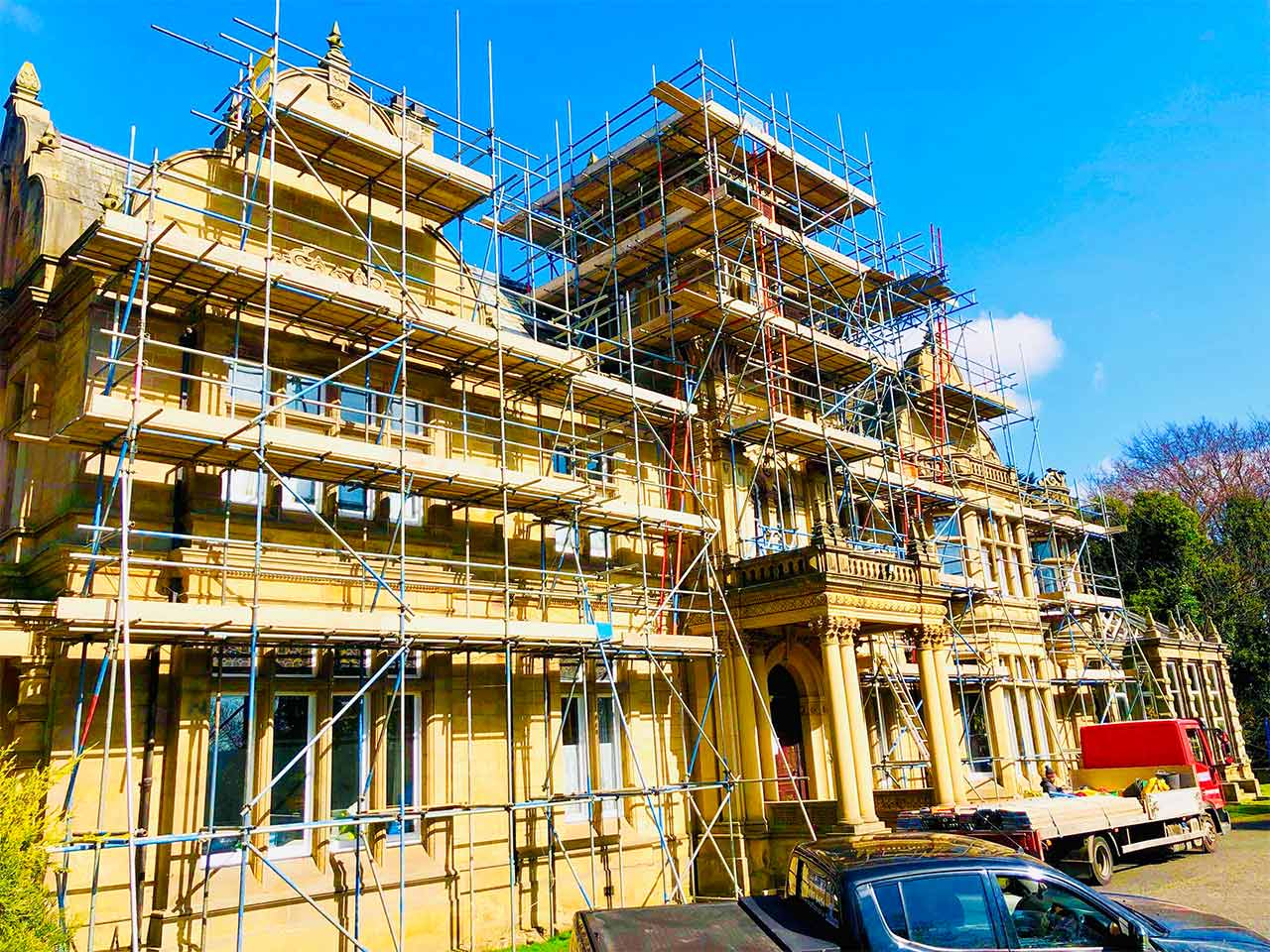 Heritage Old Renovation and Repair SCAFF-CO UK LTD SCAFFOLDING